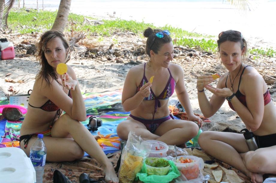 Ladies beach day
