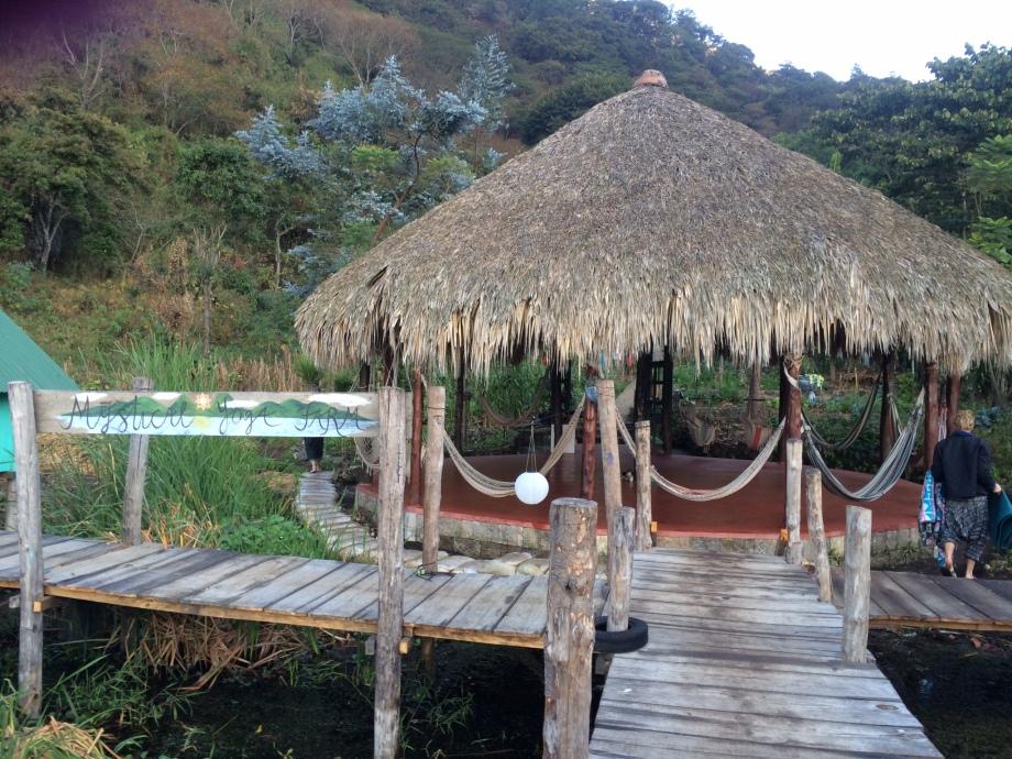 The entrance to the Mystical Yoga Farm