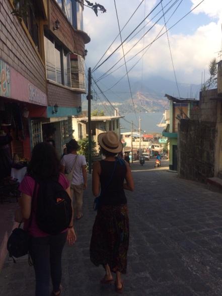 Walking in San Pedro