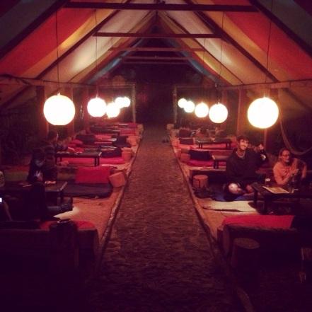 ZooLa Lounge at night