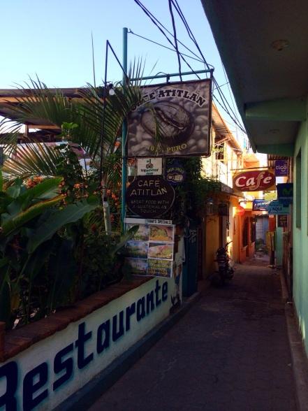 A street in San Pedro