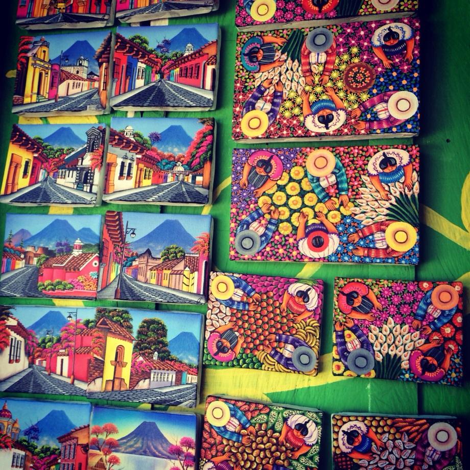 Mayan Art native to San Pedro