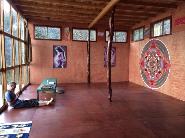 The inside of Jaguar Hall