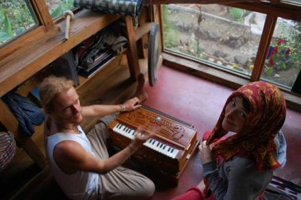 I get to spend everyday with these beautiful beings who often break out into song and play the harmonium.