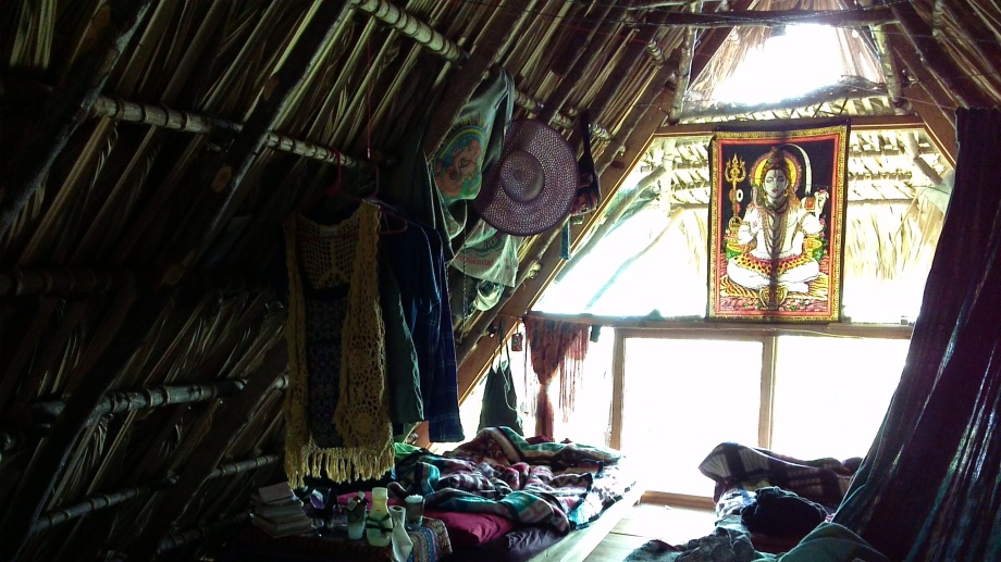 My bedroom at the farm